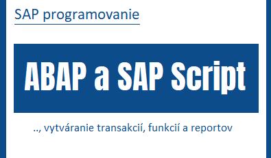 abap sap script